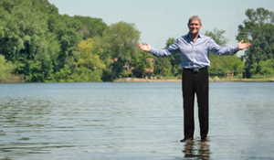 Dan can't really walk on water, but he has been known to pull off a miracle or two when the going gets tough, that's how strong his commitment is to his real estate clients.